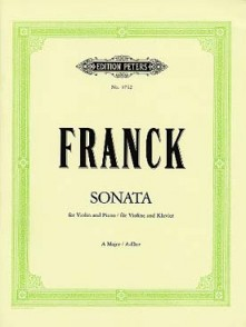 FRANCK C. SONATE A MAJOR VIOLON