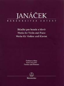 JANACEK L. COMPOSITIONS VIOLON
