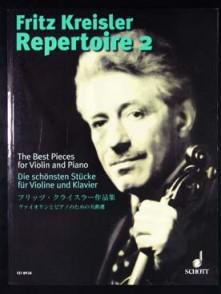 KREISLER F. REPERTOIRE 2 VIOLON PIANO