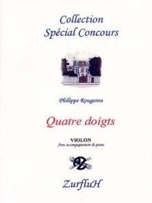 ROUGERON P. QUATRE DOIGTS VIOLON