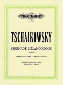 TCHAIKOVSKY P.I. SERENADE MELANCOLIQUE VIOLON