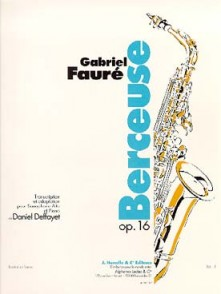 FAURE G. BERCEUSE OP 16 SAXO ALTO
