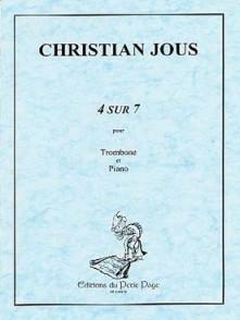 JOUS C. 4 SUR 7 TROMBONE