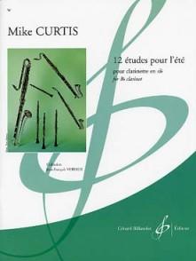 CURTIS M. 12 ETUDES POUR L'ETE CLARINETTE