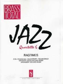 JOPLIN S. RAGTIMES JAZZ QUARTETTE 6 POUR 4 TROMPETTES