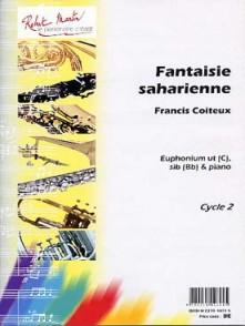 COITEUX F. FANTAISIE SAHARIENNE EUPHONIUM UT OU SIB