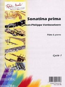 VANBESELAERE J. P. SONATINA PRIMA FLUTE