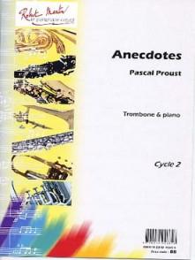 PROUST P. ANECDOTES TROMBONE