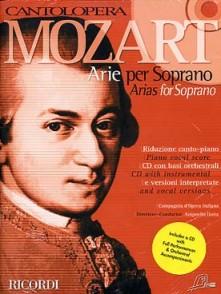 MOZART W.A. ARIE PER SOPRANO