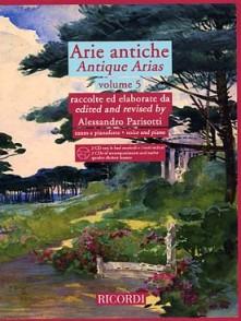 PARISOTTI A. ARIE ANTICHE VOL 5 CHANT PIANO