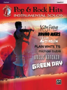 POP & ROCK HITS INSTRUMENTAL SOLOS CLARINETTE