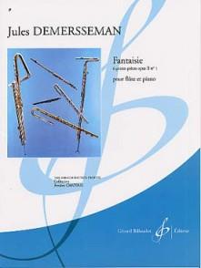 DEMERSSEMAN J. FANTAISIE OP 2 N°1 FLUTE