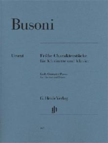 BUSONI F.FRUHE CHARAKTERSTUCKE CLARINETTE