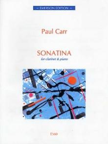 CARR P. SONATINA CLARINETTE