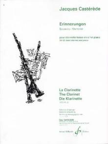CASTEREDE J. ERINNERUNGEN CLARINETTE BASSE