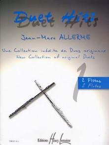 ALLERME J.M. DUETS HITS 2 FLUTES