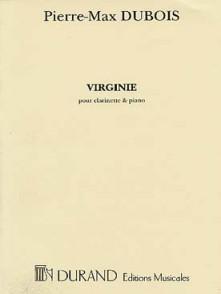 DUBOIS P.M. VIRGINIE CLARINETTE