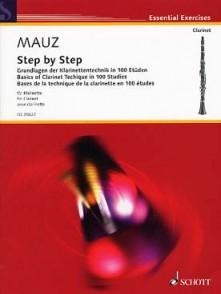 MAUZ R. STEP BY STEP CLARINETTE
