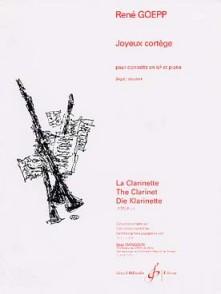 GOEPP R. JOYEUX CORTEGE CLARINETTE