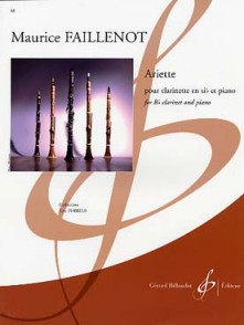 FAILLENOT M. ARIETTE CLARINETTE