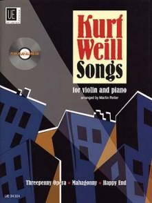 WEILL K. SONGS VIOLON