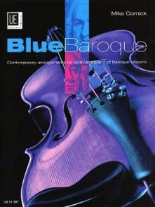 CORNICK M. BLUE BAROQUE VIOLON