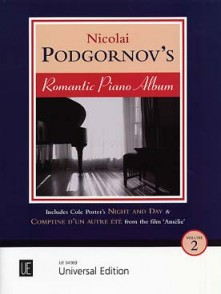 PODGORNOV'S PIANO ROMANTIC PIANO ALBUM VOL 2