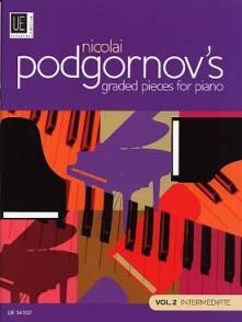 PODGORNOV'S GRADED PIECES FOR PIANO VOL 2