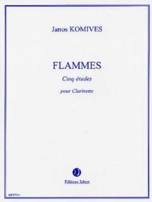 KOMIVES J. FLAMMES CLARINETTE