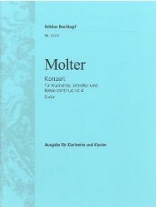 MOLTER J.M. CONCERTO N°4 CLARINETTE