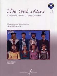 MAGNAN H. DE TOUT CHOEUR VOL 1