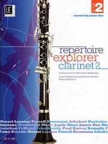 REPERTOIRE EXPLORER CLARINET VOL 2