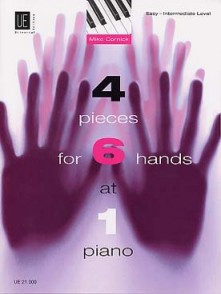 CORNICK M. 4 PIECES FOR 6 HANDS PIANO