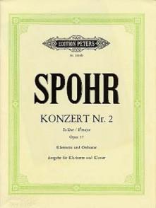 SPOHR L. CONCERTO N°2 OP 57 CLARINETTE