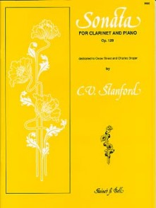 STANFORD C.V. SONATA OP 129 CLARINETTE