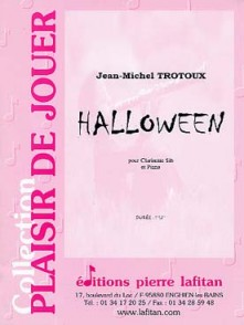 TROTOUX J.M. HALLOWEEN CLARINETTE