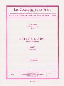 LULLY J.B. BALLETS DU ROI: GAVOTTE EN RONDEAU FLUTE