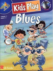 KIDS PLAY BLUES TROMBONE