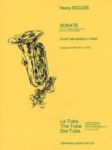 ECCLES H. SONATE TUBA BASSE