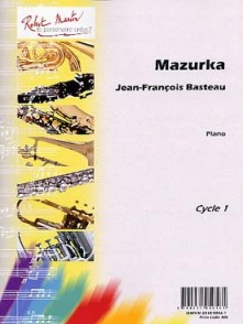 BASTEAU J.F. MAZURKA PIANO