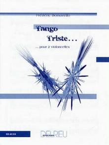 BORSARELLO F. TANGO TRISTE 2 VIOLONCELLES