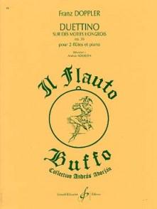 DOPPLER F. DUETTINO HONGROIS OP 36 2 FLUTES