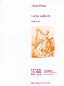 PROUST P. CONTES INACHEVEES HARPE