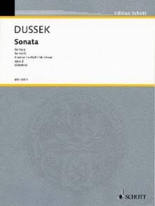 DUSSEK J.L. SONATE DO MINEUR HARPE