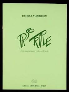 SCIORTINO P. PASO TRIPLE VIOLONCELLE