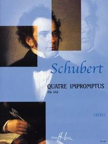 SCHUBERT F. IMPROMPTUS OP 142 PIANO