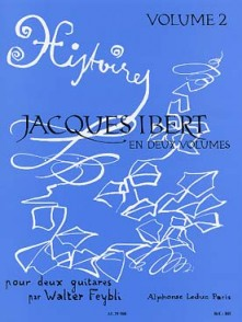 IBERT J. HISTOIRES VOL 2 GUITARES