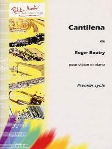 BOUTRY R. CANTILENA VIOLON