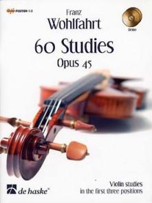 WOHLFAHRT F. ETUDES OP 45 VIOLON