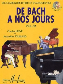 DE BACH A NOS JOURS VOL 5B PIANO
